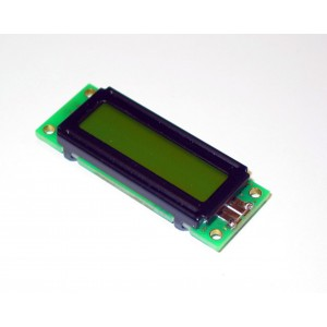 Display LCD transflectivo DMA16203STFY