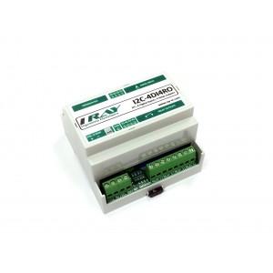 Módulo I2C-4DI4RO