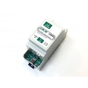Pasarela USB/RS485 DIN